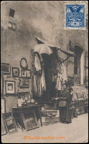 184181 - 1925 BRATISLAVA - ghetto, jednozáběrový pohled na vetešnictv