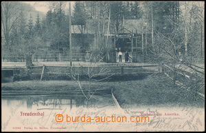 184182 - 1905 BRUNTÁL (Freudenthal) - restaurant America; long addres