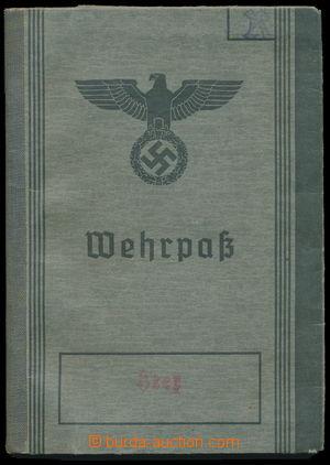 184188 - 1939-45 WEHRMACHT / WEHRPASS  zbrojní pas příslušníka Wehrma