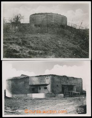 184208 - 1939 ŠATOV (Schattau), velký bunkr, vzadu s PR ZNAIM + VRANO
