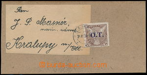 184331 - 1939 address cut square from cover shopping printed-matter f