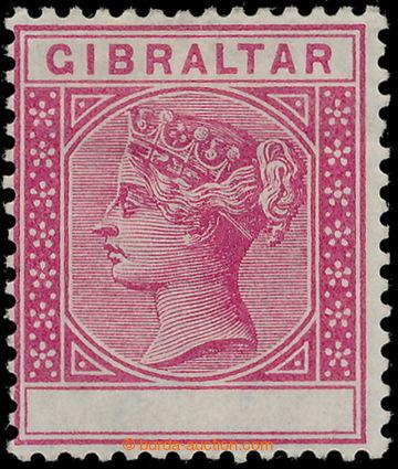 184837 - 1889-96 SG.23b, Viktorie 10c karmínová, CHYBOTISK Value omit