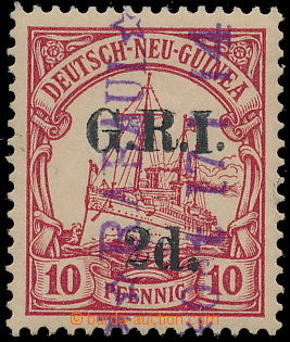 184960 - 1914 PROVISIONAL - SG.3, Opt G.R.I. 2d on stamp of Deutsch-N