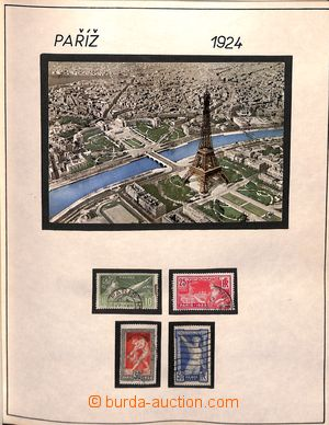 184976 - 1928-80 [COLLECTIONS]  OLYMPIC GAMES / motive collection on