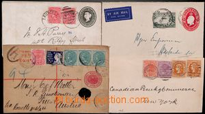 185040 - 1892-1937 comp. of 3 old COB: Australia 2P uprated with airm