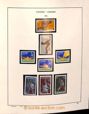 185236 - 1975-1988 [SBÍRKY]  sbírka včetně aršíků, v albu Schaubek; n