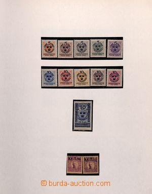 185381 - 1855-1985 [SBÍRKY]  velmi pěkná generální sbírka ve 2 pérový