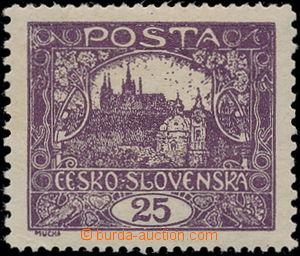 186167 / 737 - Filatelie / ČSR I. / Hradčany 1918 - zoubkované