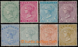186379 - 1883-1904 SG.21-29, Viktorie ½P - 1Sh; základní série,