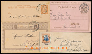 186520 - 1887-1897 TOWN POST - PAKETFAHRT BERLIN  set of 3 various us