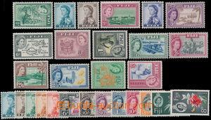 186676 - 1954-1967 SG.280-295, Alžběta II. - Motivy, kompletní série,
