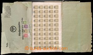 186743 - 1940 SUDETY  poplatková známka 25Rpf s černým přetiskem Spar