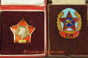 186753 - 1960-1970 LIDOVÉ MILICE - sestava 2ks vyznamenání, Vzorný st