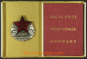 186755 - 1973 DOPRAVA  Nejlepší pracovník dopravy, stříbrný (lokomoti