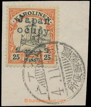 186813 - 1914 JAPONSKÁ OKUPACE - přetiskové vydání JAPAN OCUPY na něm