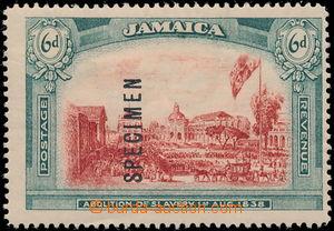 186842 - 1921 SG.90s, NEVYDANÁ ZNÁMKA Zrušení otroctví 6P červená / m