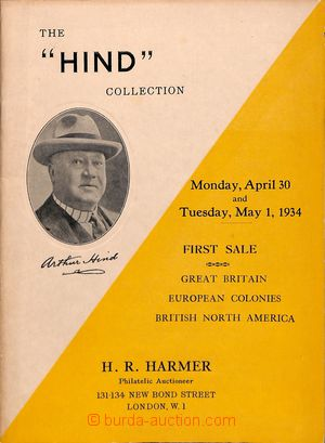 186858 - 1934 H. R. HARMER - ARTHUR HIND COLLECTION - Aukce 30.4 - 1.