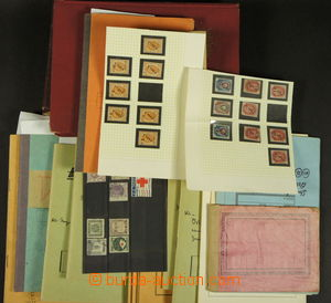187009 - cca 1850-1950 [SBÍRKY]  cca 5.000 známek v 16 výběrových seš