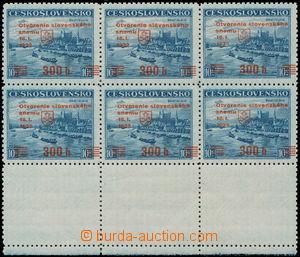 187128 -  Alb.A405, Bratislava 10Kč tmavě modrá (pozdější dotisk), 6t