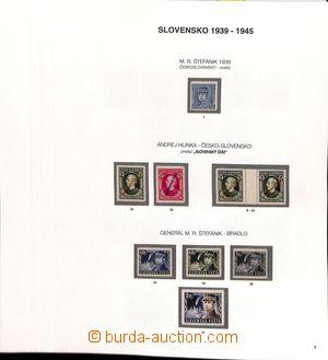 187353 - 1939-1945 [SBÍRKY]  kompletní generální sbírka svěžích zn. n