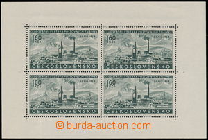 187405 - 1958 Pof.PL1017 DO, Výstava Brno 1,60Kčs, celý PL s DO3, 4,