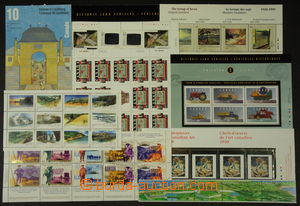 187572 - 1996-2000 selection of MNH stamps, miniature sheets, joined