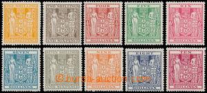187577 - 1931-40 SG.F146-155, Znak 1Sh3P - 10Sh, sestava 10 hodnot po