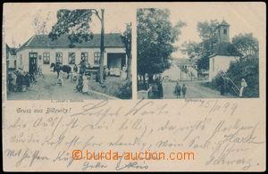 187910 - 1899 BÍLOVICE NAD SVITAVOU - BILLOWITZ  restaurace J. Janá