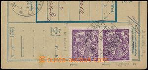187918 -  Pof.169B, ústřižek průvodky vyfr. 2 zn. Pof.169B, HZ 13