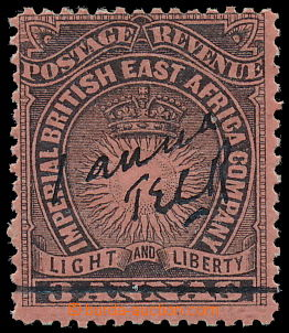 188079 - 1895 MOMBASA PROVISIONALS  SG.32, Scott No. 34Ac; Light and