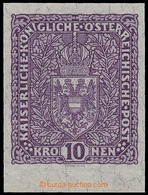 188157 - 1917-1919 Mi.211U, Výplatní velký formát Znak 10K, na žilkov
