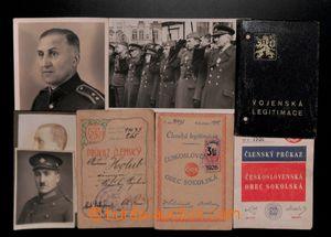 188205 - 1921-1936 ČSR I. / Vojenská legitimace z roku 1936, k tomu 3