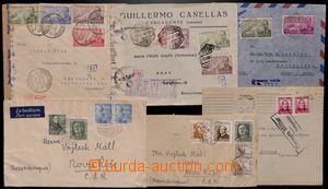 188569 - 1928-49 sestava 12 poštovně prošlých celistvostí, z toho 4ks