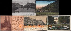 189624 - 1898-1916 CHOMUTOV (Komotau) - sestava 5ks pohlednic, 3x DA,
