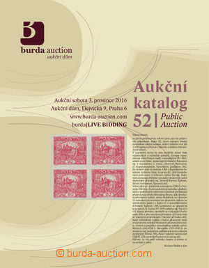 Public Auction 52 - aukční katalog