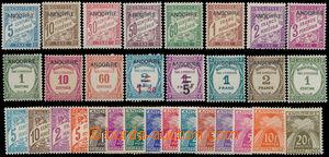 190081 - 1931-1943 DOPLATNÍ  Mi.1-8, 9-13, 14-15 (!), 16, 17-20, 21-3