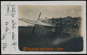 190195 - 1914 PIONEER FLIGHTS - EVŽEN ČIHÁK  original photo postcard
