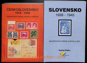 190450 -  MERKUR REVUE: Československo 1918-1939 + Földes O.: Slovens