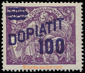 190537 - 1926 Pof.DL47B, Postage Due - overprint issue Agriculture an