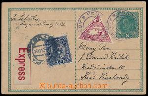 190778 - 1918 CPŘ3, Austrian parallel PC 8h Charles sent as express,