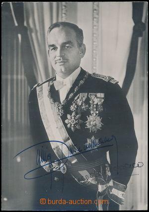 190896 - 1970? RAINIER III. (1823-2005), monacký kníže + Grace (Kelly