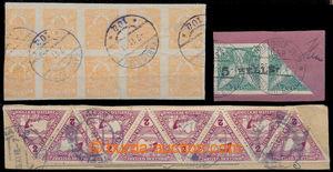 191076 - 1918 NOVINOVÉ, SPĚŠNÉ  Mi.127, maďarská novinová 2f oranžová
