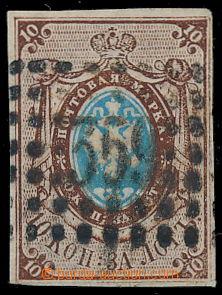191110 - 1857 Mi.1, Znak 10k, s číslicovým raz. 359 - YARMOLINTSY, ob
