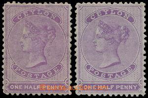 191353 - 1863-1866 SG.48, 48c, Viktorie 1½P (tisk De La Rue) mat