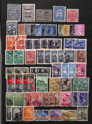 191562 - 1890-1980 [SBÍRKY]   TURECKO, ITÁLIE, NSR, IRAK, PALESTINA,