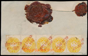 191609 / 338 - Filatelie / Evropa / Rakousko / V. emise 1863/1864