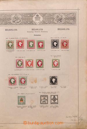 191734 - 1850-1950 [SBÍRKY]  CELÝ SVĚT / POZŮSTALOST  zbytková partie