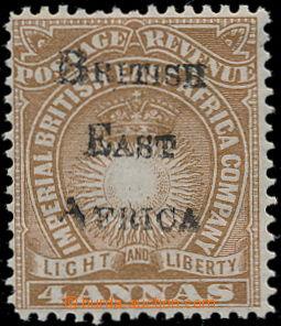 191811 - 1895 IMPERIAL ADMINISTRATION  SG.38, přetisková Light and Li