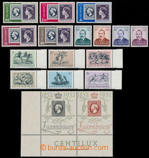 191842 - 1952 Mi.488-504, kompletní ročník 1952, mj. 2-páska Mi.488-4