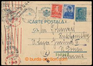 191959 - 1942 LAGER GMÜND III. (České Velenice)  uprated Rumanian PC